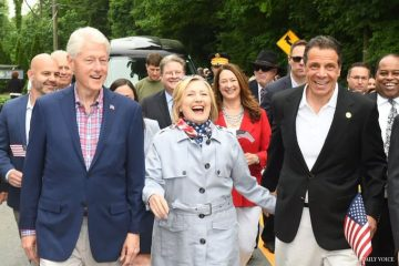hillary clinton memorial day