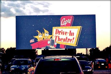 michigan family drive-in