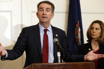 ralph northam without mask
