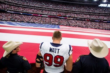jj watt kneeling
