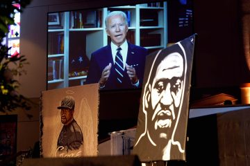 joe biden martin luther king george floyd