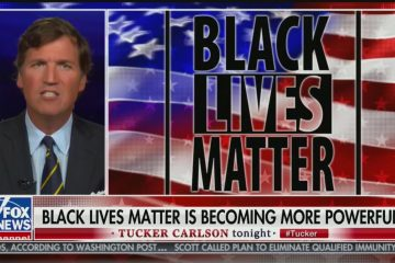 tucker carlson black lives matter