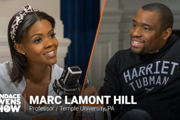 Marc Lamont Hill, candace owens, men can have a baby