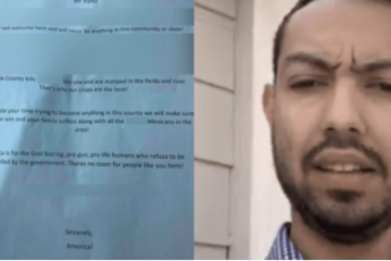 jonathan martinez fake racist hate letter