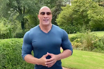 dwayne johnson biden